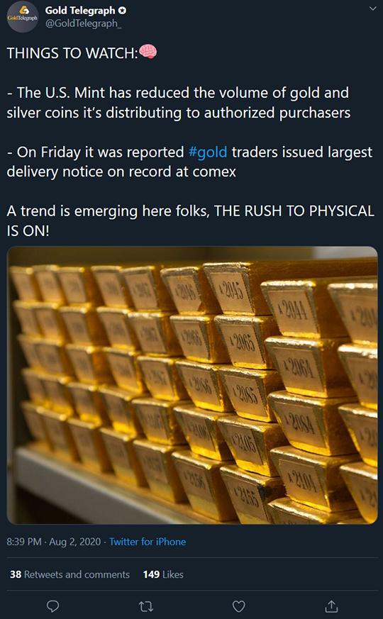 Gold Telegraph