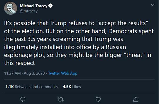 Michael Tracy Trump