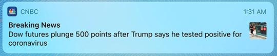 Trump Rona