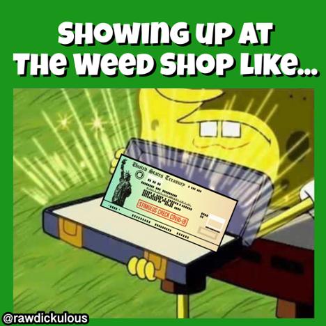 Weed Shop Stimulus