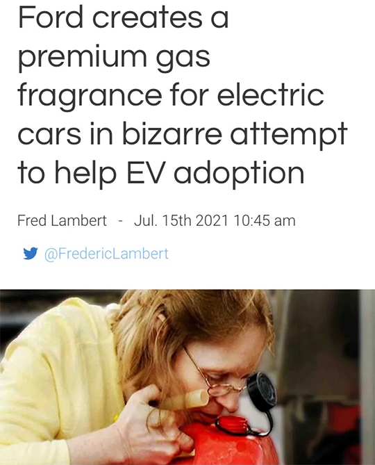 Ford Premium Gas