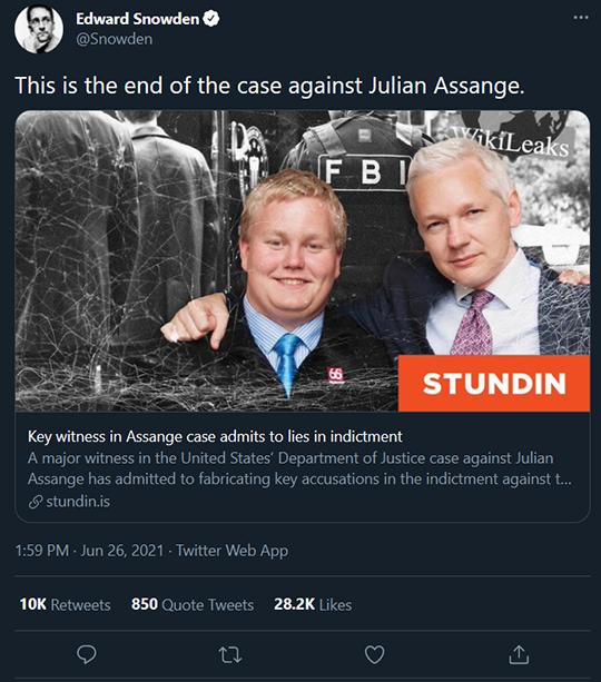 Snowden Assange