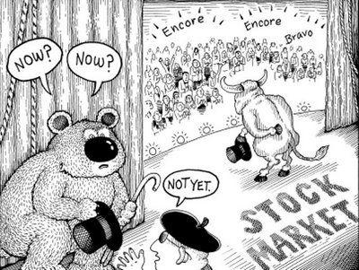 Stock Market Cartoon