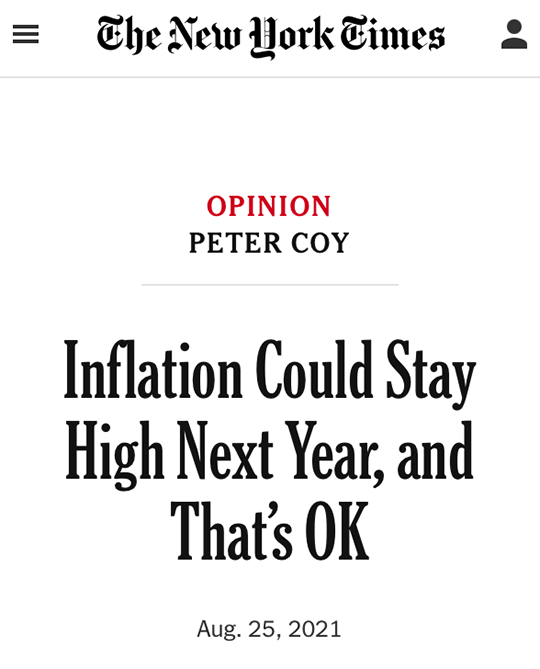 Inflation Could Stay