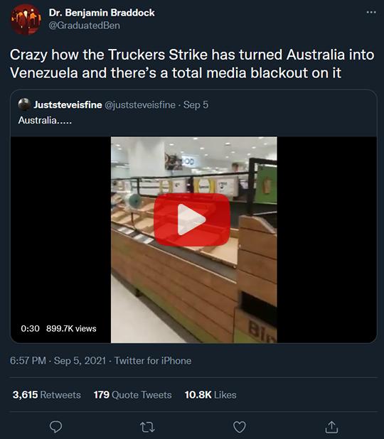 Truckers Strike