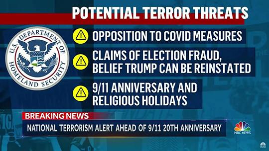 Potential Terror Threat